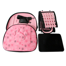 Cats and dogs go out breathable folding portable messenger portable printing pet bag dog carrier bag