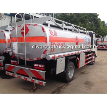 Top Sale JAC 120HP 5000L Fuel Tank Truck