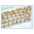 4MM Kristallglas-Rechteckkristallkorne