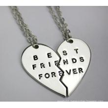 Best Friends Forever Couples Pendants Necklace (YN0178)
