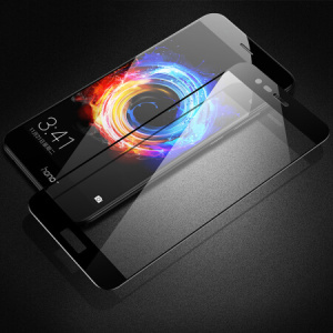 HD Black Tempered Glass voor Huawei Honor V9