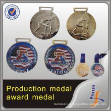 Medalla olímpica 3D hecha por encargo del metal del deporte