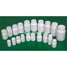 Frasco de comprimidos de plástico garrafa de garrafa Tampa de parafuso para medicamento garrafa de plástico vazia