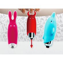 Vibradores adultos del sexo de los juguetes con tres modelos encantadores para la opción