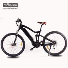 2018 venda Quente 26 '' 36v250w BAFANG mid drive bicicleta elétrica mountain bikes com bateria escondida
