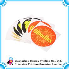Pegatina de papel de logotipo de banda de negocios personalizados