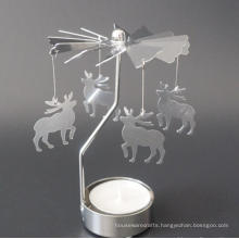 Aluminum Rotary Candle holder