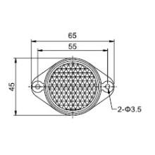 Sensor de Sensor Fotoelétrico Td-04 Reflector