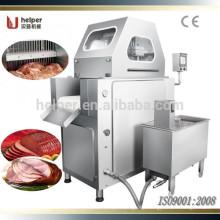 Large quantity saline injection machine