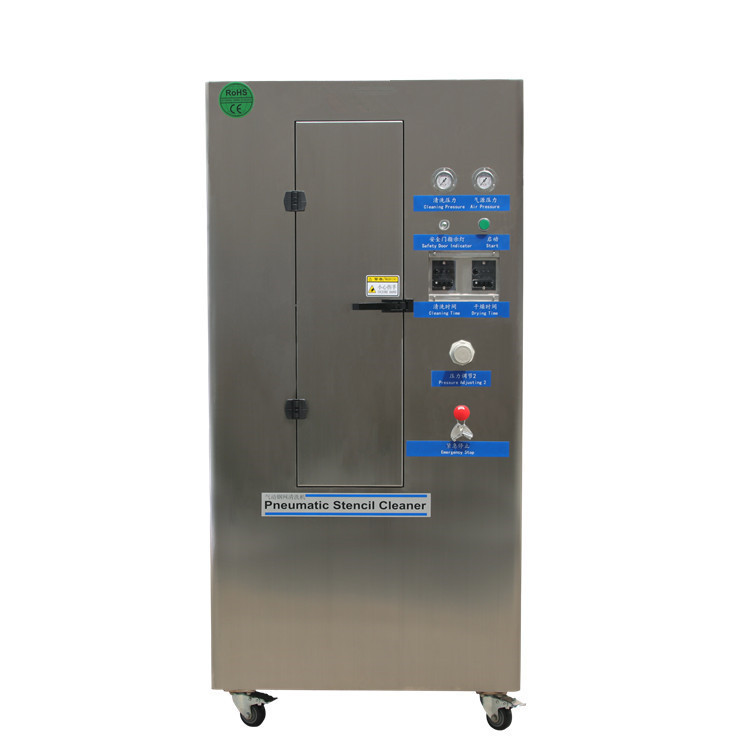 Automatic Pneumatic Stencil Cleaning Machine Smt Cleaner 3