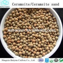 Ceramsita de ceramsita de alta pureza / arena de fundición de ceramsita en fundición