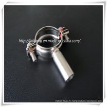 Garde-tubes en acier inoxydable sanitaire