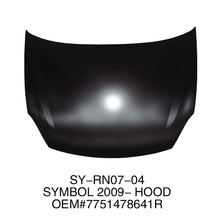 hood used for RENAULT SYMBOL 2009-