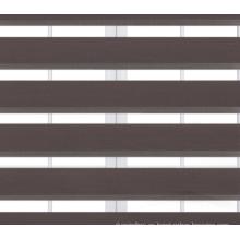 Cortina de rodillo de cebra sombra liso teñido
