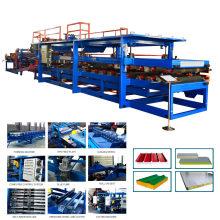 Xinnuo usine prix en aluminium composite panneau sandwich ligne de production