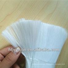 Filamentos del cepillo animal doméstico, pp, fibra del pvc, cerda