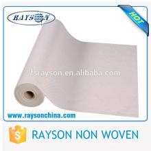 Bon non-tissé non tissé sec de polyester de résistance à l'eau / sec