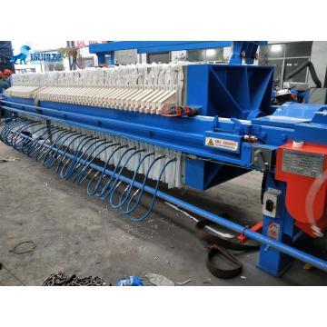Машина системы фильтрации пресса для очистки сточных вод