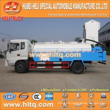 DONGFENG 4x2 6000L pressure washing truck 170hp cummins engine cheap price