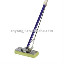 metal holder cellulose squeegee mop with Two sections Alu Handle