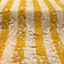 Striped Printing Decorative Lace for Garment