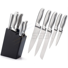 5 Piece Stainless Steel Hollow Handle Kitchen Knife Set (A24)