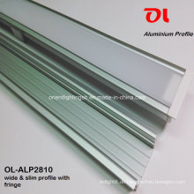 Breites, schlankes LED-Aluminiumprofil mit Fransen (ALP2810)