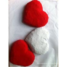 Travesseiro macio e bonito de pedra de cereja em formato de coração