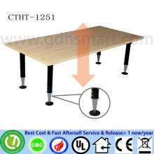 акриловые ведро льда оптовая ручной винт регулируемый по высоте стол регулируемый офисный стол ноутбук стол
