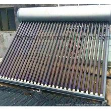 Chauffe-eau solaire à tube sous vide sans pression