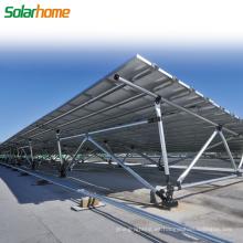 Uso comercial 25 años de garantía Instalación fácil Planta de energía solar Sistema de montaje solar terrestre