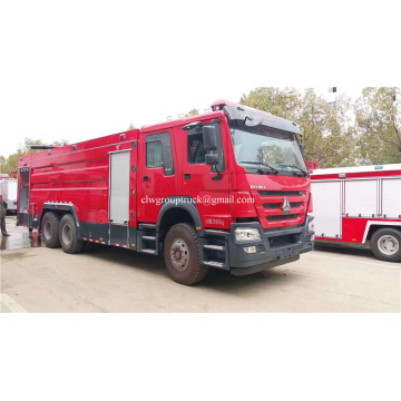 Howo 16tons foam fire fighting truck