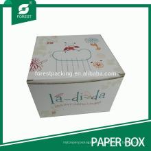 Impresión en color de la caja de cartón corrugado