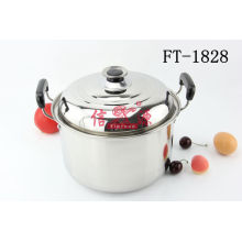 Stainless Steel European Style Cook Pan (FT-1828)
