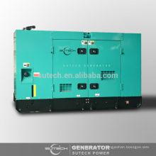Vente d'usine! Générateur diesel insonorisé 15kw alimenté par le moteur 4B3.9-G2 CUMMINS