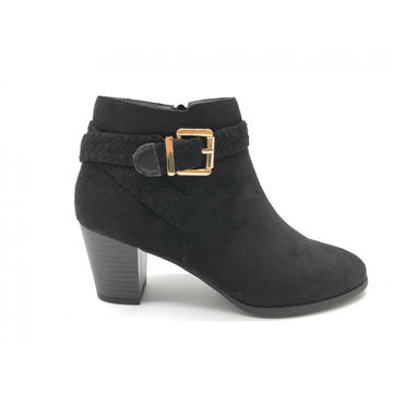Damenstiefel Side Zip High Heel Ankle Booties