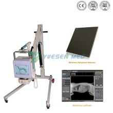 Портативное цифровое мобильное рентгеновское оборудование для медицинских больниц 70 мА