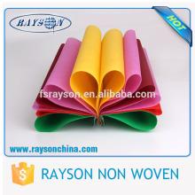 Foshan Rayon Nadel gestanzt biologisch abbaubare Vliesstoffe