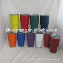 zhuosheng 30oz 900 stainless steel coffee mug tumbler keep hot and cold