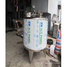 Prix de machine de pasteurisateur de lot de lait d'acier inoxydable de 100L 200L 300L