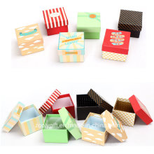 Cheap Printing Mini Square Packing Gift Paper Box / Watch Packing Boxes
