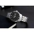 2017 Casual Fashion Brand 316L ACERO INOXIDABLE Relojes Unisex Relojes Pareja Relojes