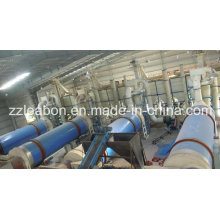 1.5 T / H polvo de madera / Sawdust tambor giratorio secador