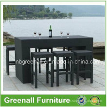 Outdoor Hot Rattan Bar Stool Set (GN-8638D)