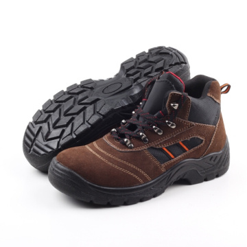 Hiking Suede Leather Safety Boot (SN5116)