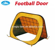 playing children football door