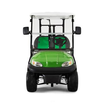 абсолютно новый спортивный зеленая батарея 48v питанием от батареи электрический гольф тележки мини-корзина