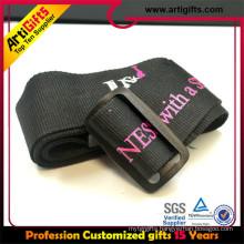 Good quality custom luggage belt with lock