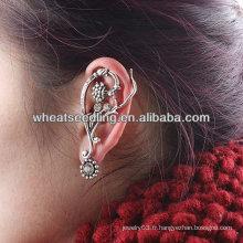 Boucles d'oreilles en érable à oreilles femme EC09