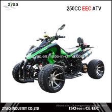 250cc CEE Quad Racing / EEC ATV com 12 polegadas Roda